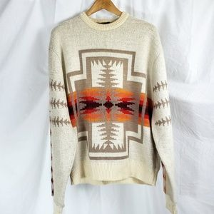 VTG Pendleton High Grade Western Wear Sweater L